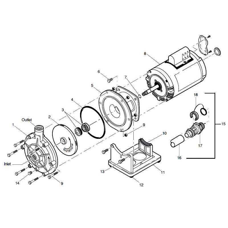 Pump Motor Diagram