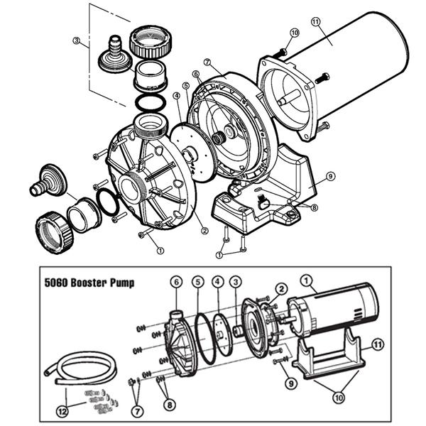 6060 Hayward Booster Pump 6060