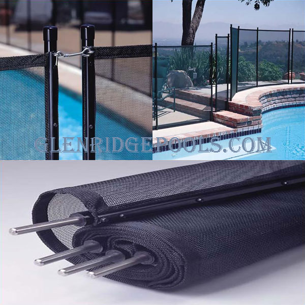 Inground Removable Safety Fence Glenridge Pool Supplies