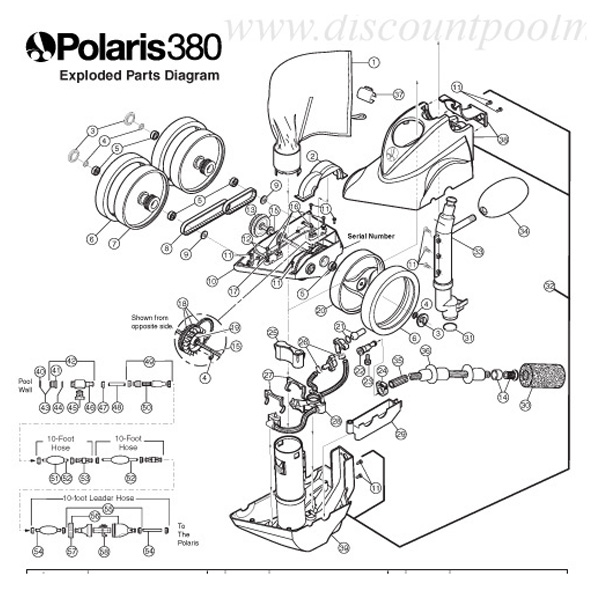 Outstanding F3 Polaris 380 Automatic Pool Cleaner Diagram F3 Wiring Cloud Hisonuggs Outletorg